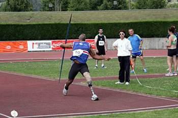 Márcio Fernandes, atleta paralímpico cabo-verdiano