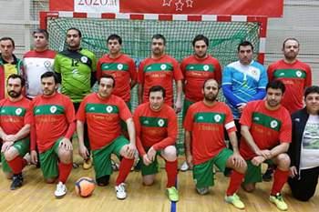 Equipa portuguesa de padres de futsal