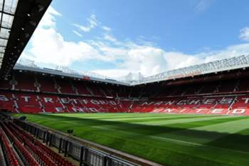 Estádio do Manchester United.