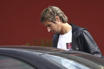 Portugal's player Fabio Coentrao arrives to the hotel in Obidos where his team's will stay for the preparation of the upcoming games, Portugal, 6 October 2014. Portugal's national team is in preparation for the friendly match against France prior to the Euro2016 qualifying game against Denmark. MARIO CRUZ/LUSA