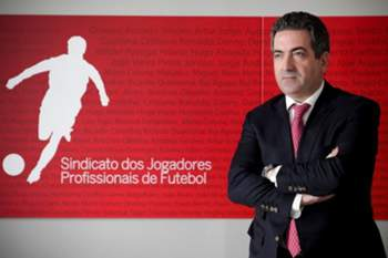 Joaquim Evangelista, presidente do Sindicato dos Jogadores Profissionais de Futebol