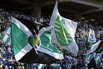 Adeptos Sporting.