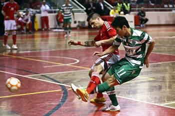 sporting benfica futsal caio bruno
