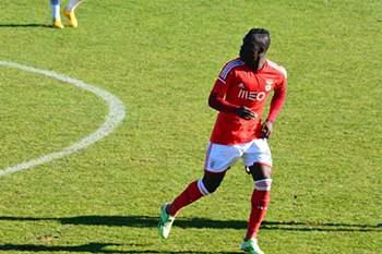 Romário Baldé do Benfica, fora do Mundial de Sub-20