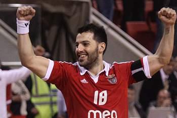 Jogador de andebol do Benfica