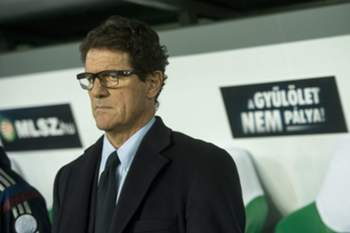 epa04494853 Head coach of the Russian national soccer team Fabio Capello is seen during Hungary vs Russia friendly soccer match in the Groupama Arena in Budapest, Hungary, 18 November 2014. EPA/Tibor Illyes HUNGARY OUT