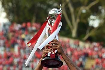Luisão levantou a Taça o ano passado.
