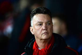 epa04615131 Manchester United's Dutch manager Louis Van Gaal before the English Premier League soccer match between Manchester United and Burnley FC at Old Trafford in Manchester, Britain, 11 February 2015. EPA/NIGEL RODDIS DataCo terms and conditions apply. https://www.epa.eu/files/Terms%20and%20Conditions/DataCo_Terms_and_Conditions.pdf