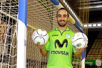Jogador português atua no Inter Movistar.