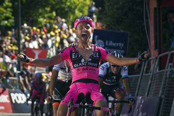 Rui Sousa vence a segunda etapa da Volta a Portugal em Bicicleta que terminou em Viana do Castelo. JOSE SENA GOULAO / LUSA