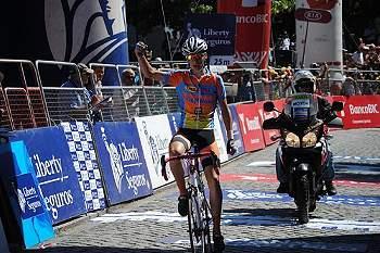 Minhoto onquistou o título de campeão português de ciclismo de fundo de juniores