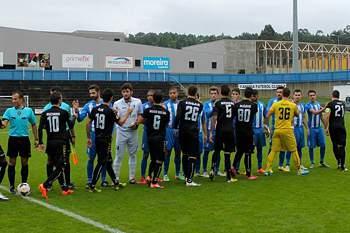 Sanjoanense e Anadia defrontaram-se na 10ª jornada do Campeonato Nacional de Seniores Serie D.
