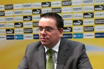 O diretor da secção de futsal do Sporting.