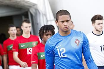 Fábio Duarte, guarda-redes dos sub-17 de Portugal