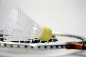 Se prefere atividades ao ar livre, pode optar por uma partida de badminton. Este é o material de que vai precisar