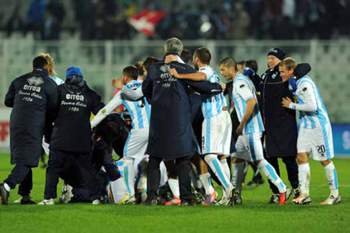 Itália: festejos do Pescara