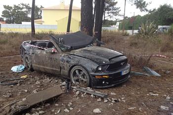 Acidente de Franco Jara na Aroeira