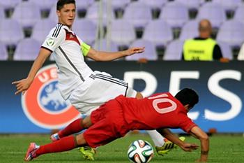 Final Euro Sub-19: Portugal-Alemanha