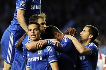 LC: Chelsea - Atlético de Madrid