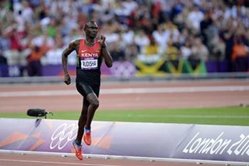 Rudisha faz cair recorde do Mundo