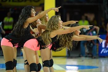 As Cheerleaders do Mundial de Basquetebol