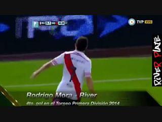 Golaço de Rodrigo Mora (ex-Benfica) no River Plate