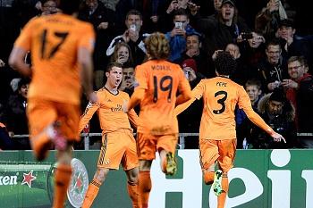 Real vence com golo recordista de Ronaldo