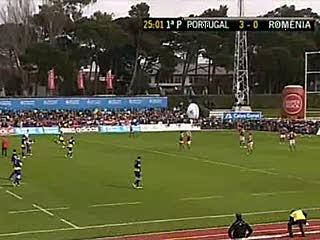 Râguebi:Portugal 9-20 Roménia