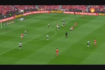 Lances jogo Benfica - Olhanense