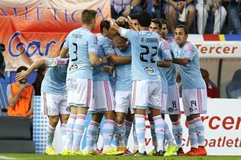 Nolito volta a marcar na Liga Espanhola