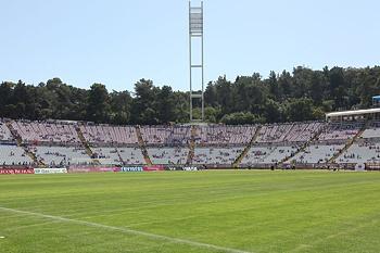 O palco da final da Taça de Portugal.