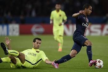 Barcelona não chegou para PSG consistente