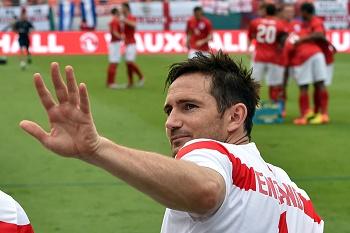 Lampard diz adeus à seleção inglesa