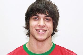 O jogador do Rio Ave é capitão de equipa da seleção sub-21 de futsal.