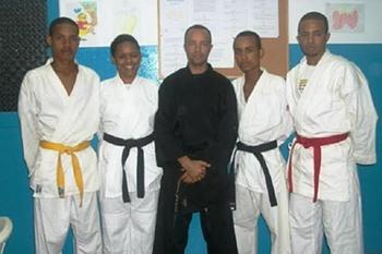 Karatecas de Santo Antão