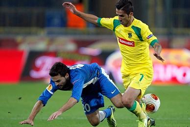 Jogo entre Dnipro e FC Copenhaga joga-se em Kiev