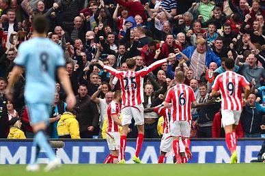 Manchester City perde em casa com o Stoke