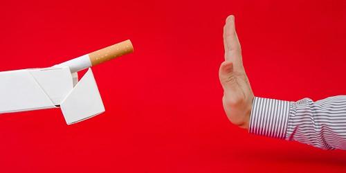 Porque quando deixado fumar pressão aumentou