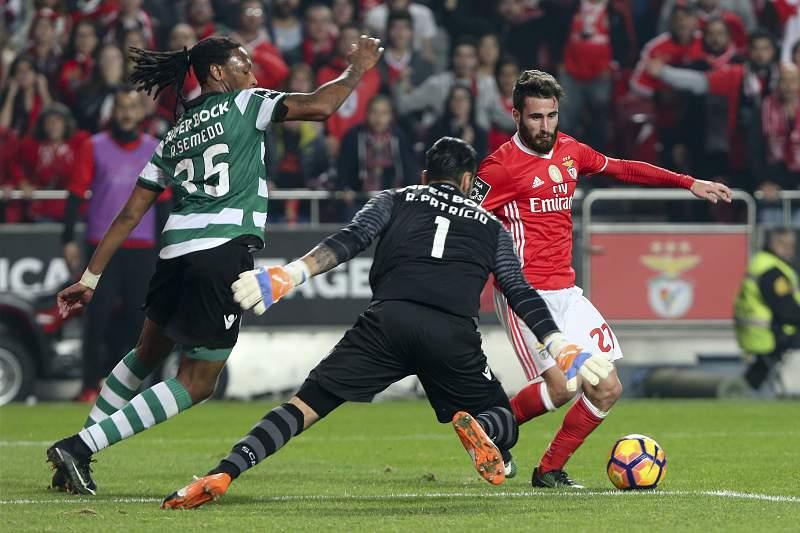 Benfica Sporting Rui Patrícia Ruben Semedo Rafa