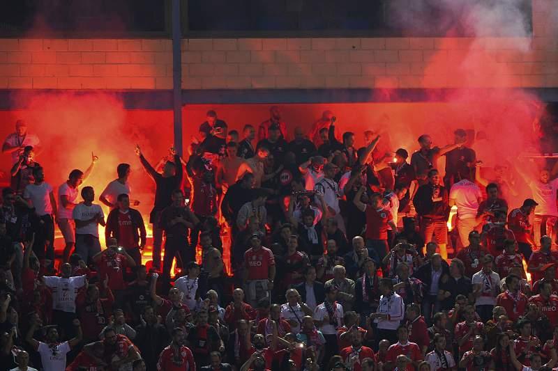 Benfica pede desculpa pelos incidentes no Vicente Calder