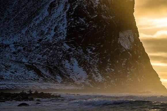 A beleza do surf