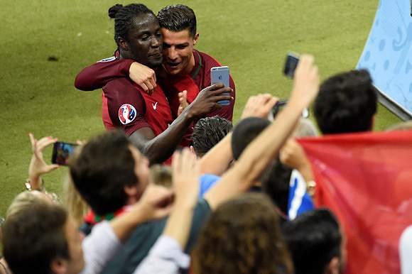 Éder e Ronaldo