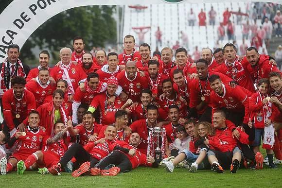 1. Benfica - 727,5 milhões de euros
