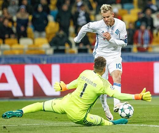 1.51 - Dínamo Kiev (519 golos/344 jogos)