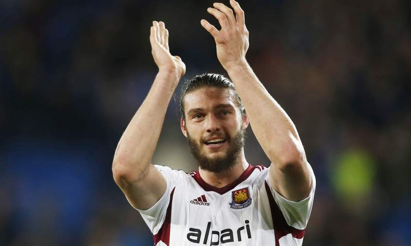 9: Andy Carroll, West Ham- 376 mil euros/mês