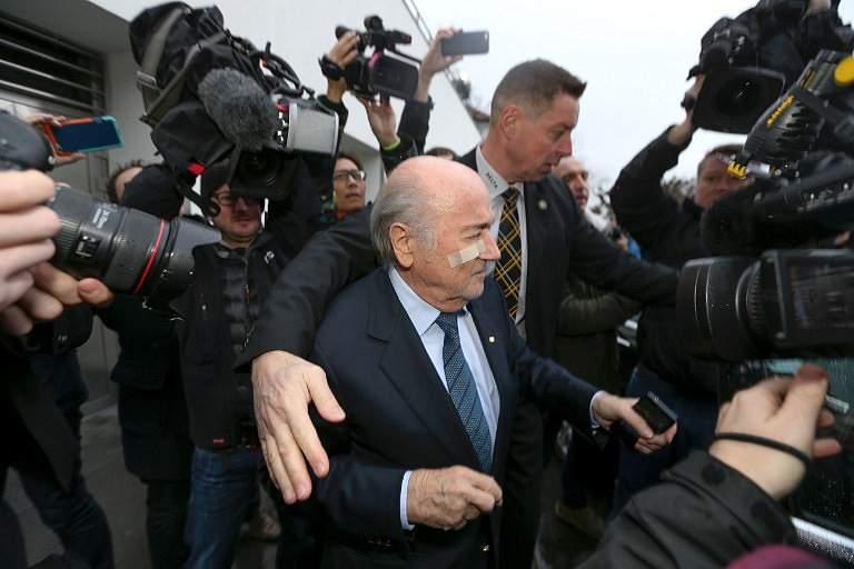 Blatter despede-se do futebol