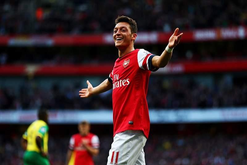 4: Mesut Özil, Arsenal- 656 mil euros/mês