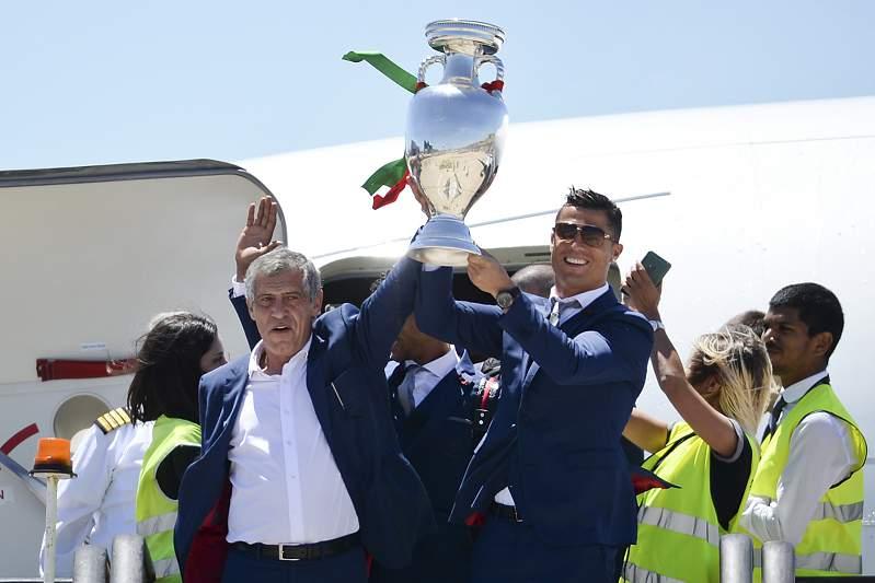 A primeira imagem da Taça em Portugal