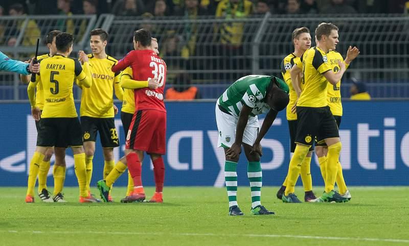 Muito Dortmund para pouco Sporting