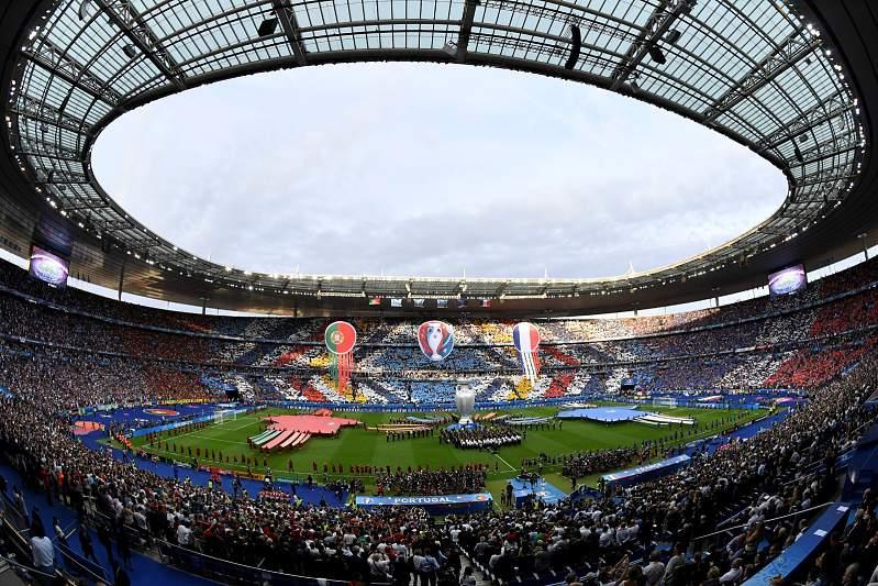 Estádio da final, em Paris